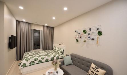 Tìm hiểu những mẫu bố trí căn hộ studio Vinhomes Smart City – Tây Mỗ