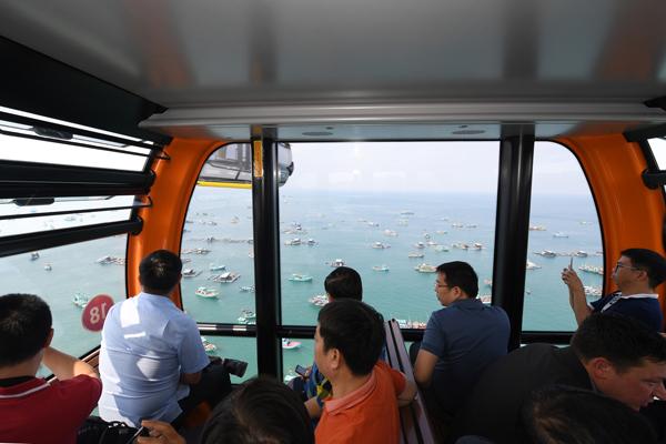 Cáp treo Hòn Thơm – Phú Quốc miễn phí vé cho trẻ em