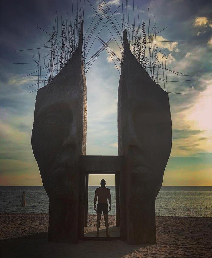 Cổng trời độc đáo ngay tại Phú Quốc mà ngỡ như ở một thiên đường nào đó