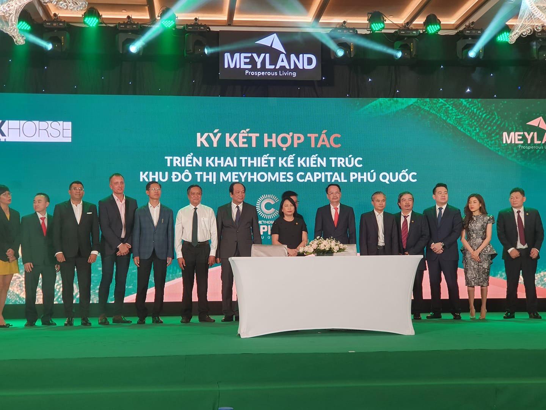 Lễ ký kết hợp tác triển khai thiết kế kiến trúc khu đô thị Meyhomes Capital Phú Quốc