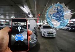 vinhomes smart city dễ dàng tìm chỗ đỗ xe