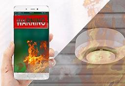 vinhomes smart city cảnh báo hỏa hoạn và hướng dẫn thoát nạn