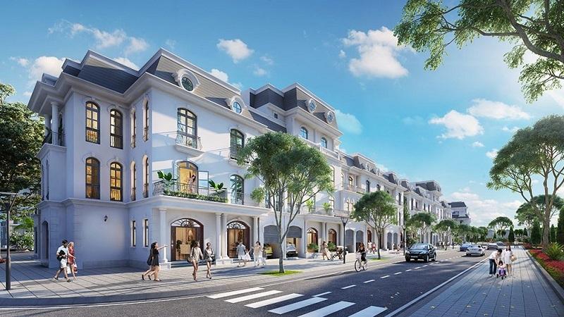 nhà Liền kề và shophouse Vinhomes wonder park Đan Phượng- mở bán đợt 1, Thanh khoản tốt-1
