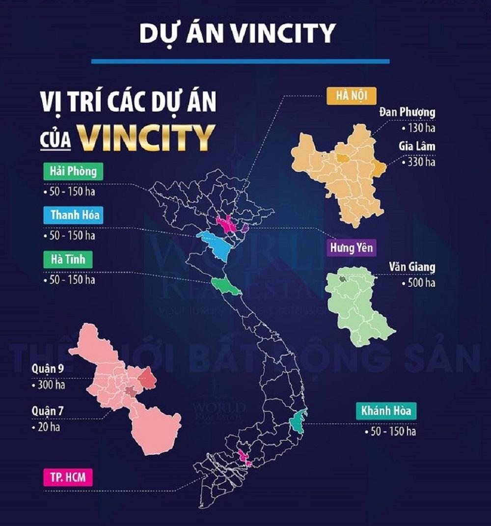 Tập đoàn Vingroup dự kiến sẽ cho xây dựng 300.000 căn hộ Vincity