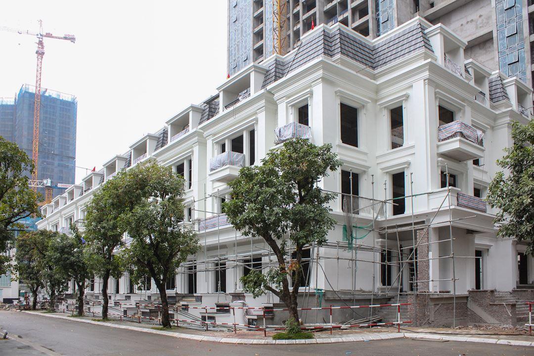 Tiến độ thi công dự án Sunshine City Hà Nội ngày 7/1/2019